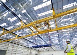 جرثقیل سقفی کارگاه، سوله و محیطهای باز
